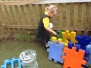 Bubble class outdoor learning