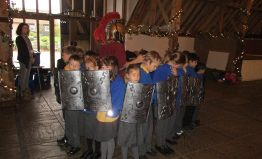 Romans and Anglo Saxons!