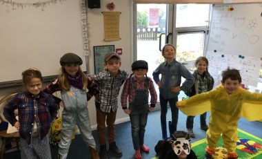 Stoke Row Spelling Bee and World Book Day