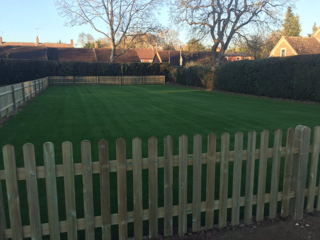 Exciting news – our new Astroturf!